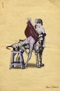 artistes-denis dubois-mon minou